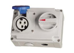 Interlock Switch Socket IP44