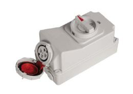 Interlock Switch Socket IP67