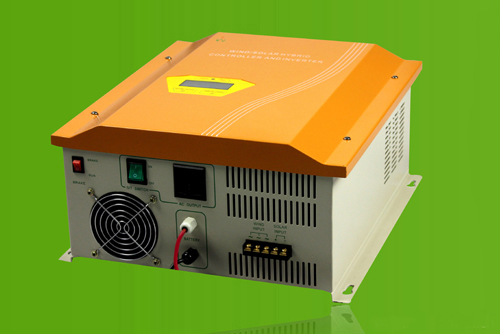 Wind&Solar Hybrid Controller With Inverter
